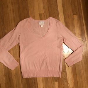 Old Navy pink cashmere sweater